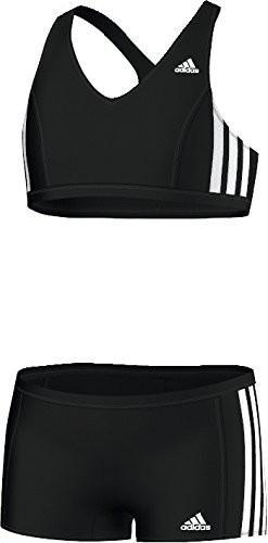 f0488c9ff ADIDAS S22913 PLAVKY DETSKÉ DIEVČENSKÉ DVOJDIELNE čierne - Slange Sport