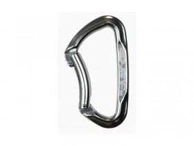 CLIMBING TECHNOLOGY LIME BENT SILVER KARABÍNA 2C457