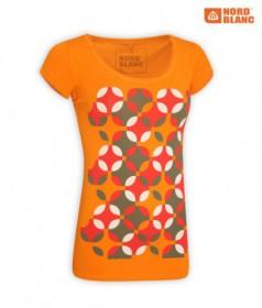 NORDBLANC 2447 ORANGE tričko dámske