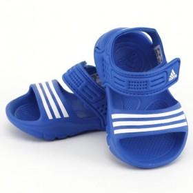 ADIDAS D65553 AKWAH 8I SAND�LKY DETSK� blue / white