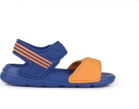 ADIDAS S74682 AKWAH 9I SAND�LKY DETSK� blue / orange