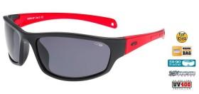 GOGGLE E960-2P OKULIARE JR  black red  (kód: 8126)