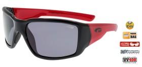 GOGGLE E962-1P OKULIARE JR black red  (kód: 1264)