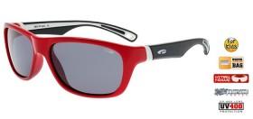 GOGGLE E972-1P OKULIARE  JR  red black  (kód: 6679) GOGGLE