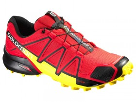 SALOMON SPEEDCROSS 4 381154 OBUV PÁNSKA red  (kód: 7470)