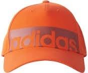ADIDAS BK0814 5PCL CAP LINEAR ŠILTOVKA oranžová  ADIDAS