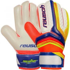 REUSCH SERATHOR EASY FIT JUNIOR BRANKÁRSKE RUKAVICE  (kód: 2614) REUSCH
