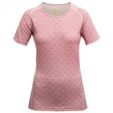 DEVOLD BREEZE WOMAN T-SHIRT GO 286 219 A TRIČKO MERINO DÁMSKE sweet  DEVOLD