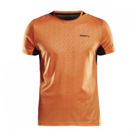 CRAFT 1905834-575999 BREAKAWAY SS TEE ONE TRIČKO PÁNSKE oranžové