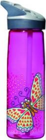 LAKEN JANNU TRITAN plastová flaša 750ml Kukuxumusu fialová BPA FREE  (kód: 4943)