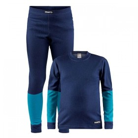 CRAFT 1905355-391658 BASELAYER JUNIOR SET modrý