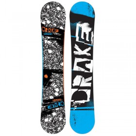 DRAKE URBAN FLAT + FIFTY 12 SNOWBOARD  DRAKE
