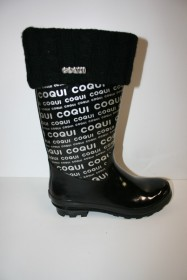 COQUI ELISE 8065 DÁMSKE ČIŽMY black  (kód: 5761) COQUI