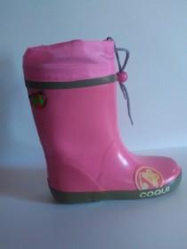 COQUI RONIE 8093 DETSKÉ ZATEPLENÉ ČIŽMY pink  (kód: 5748) COQUI