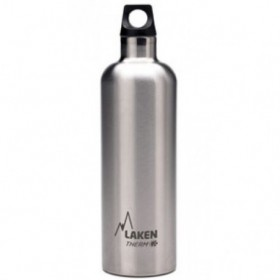 LAKEN THERMO BOTTLE STEEL 0,75L TE7  TERMOFLAŠA silver  (kód: 2353)