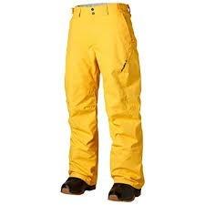 O´NEILL 253023 PMES HAMMER NOHAVICE SNOWBOARDOVÉ PÁNSKE žlté  (kód: 3986)