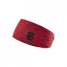 CRAFT 1907912-481200 MICKROFLEECE ČELENKA UNI červený-melír  (kód: 4553) CRAFT