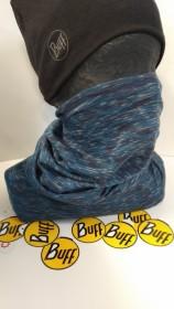BUFF LIGHTWEIGHT MERINO WOOL MULTI FUNKČNÁ ŠATKA modrá pásik  (kód: 3521) BUFF