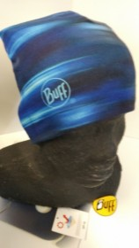 BUFF MICROFIBER OBOJSTRANNÁ ČIAPKA UNI modrá vzorovaná  (kód: 3520) BUFF