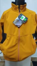 LOWE ALPINE WILDCAT SOFTSHELOVÁ BUNDA PÁNSKA oranžovožltá  (kód: 2259) LOWE ALPINE